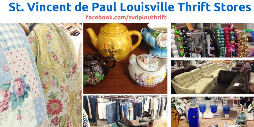 Thrift Stores St Vincent De Paul Louisville