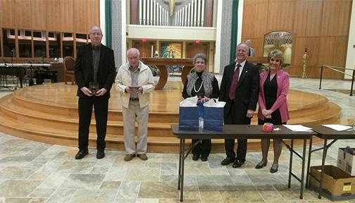 SVDP Honors Vincentians