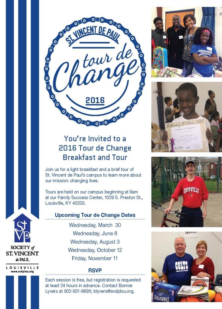 tour de change flyer