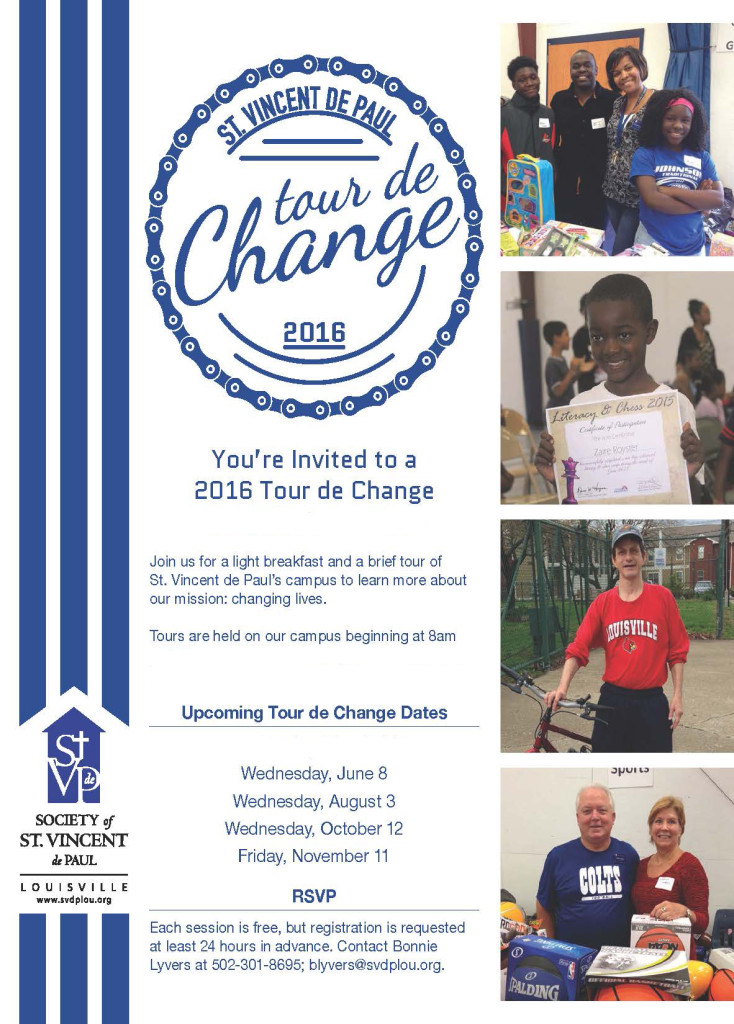 Tour de Change June 8