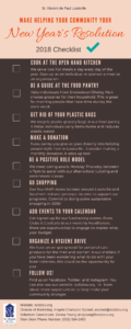 New Year's Resolution Checklist