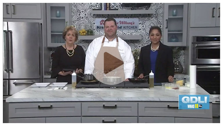 Chef Charlie Prepares Lent Recipes on Great Day Live!