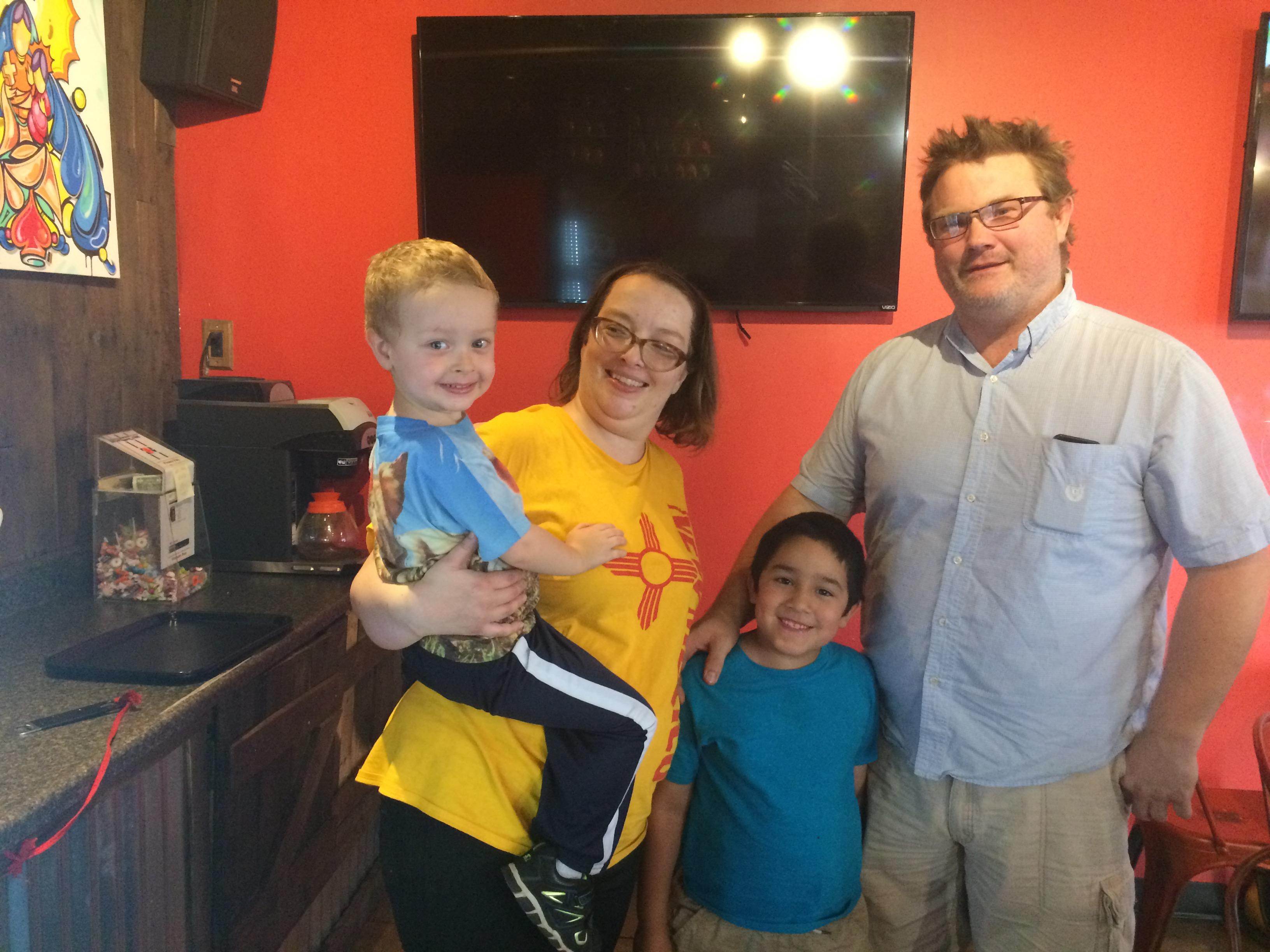 Family at Bandido's FoodRaiser